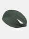 Unisex Sport Cycling Sweat Absorption Seamless Breathable Headband Headscarf - Green