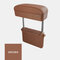 Car Charging Armrest Box Pad Automatic Telescopic Storage Box Central Control Elbow Support Holder - Brown