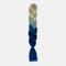 HalloweenColored Gradient Dirty Braids High Temperature Fiber Big Braids Ponytail Hair Extensions - 60