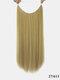 10 цветов длинные прямые Волосы удлинители химического волокна без следов ложные Волосы шт. - #07