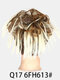 41 Colors Chicken Tail Hair Ring Messy Fluffy Rubber Band Curly Hair Bag Wig - 34