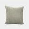 Nordic Solid Color Cord breit und schmal gestreift Flanell Kissen Schlafzimmer Sofa Autokissenbezug - Grau