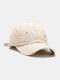 Coton unisexe trous cassés mode chapeau de baseball pare-soleil extérieur - Beige