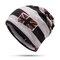 Women Winter Warm Wool Wild Useful Beanie Cap Outdoor Casual Shopping Cycling Windproof Hat - Coffee