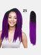 22 цвета цветная грязная коса Спираль длинная Волосы конский хвостик маленькая весна кудрявая Парик - #12