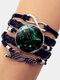 Vintage Twelve Constellation Women Bracelet LOVE Letter Multilayer Bracelet - Sagittarius