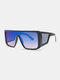 نظارات شمسية رجالية بإطار كامل من قطعة واحدة مقاومة للرياح UV حماية - #05