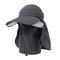 رجل إمرأة الصيف ظلة المعطي الاستخدام قبعة الشمس في الهواء الطلق عارضة مكافحة UV الرياضة قبعة بيسبول للإزالة