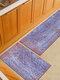 Pintura de acuarela Patrón Soft Puerta antideslizante Manta Alfombra Alfombra Alfombra de piso de cocina Interior al aire libre Decoración - #07