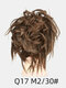 41 Colors Chicken Tail Hair Ring Messy Fluffy Rubber Band Curly Hair Bag Wig - 32