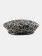 महिला ऊन तेंदुए गर्म पैचवर्क पेंटर हैट बैरिट हैट ऑक्टागोनल हैट - अंधेरे भूरा