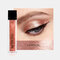 14 Colors Liquid Eyeshadow Sequins Earth Color Shimmer Brighten Makeup Waterproof Eyeshadow - #04