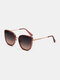 Unisex Full Frame Fashion Outdoor HD UV Protection Sunglasses - Pink