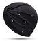 Womens Breathable Comfortable Pearl Headpiece Casual Elastic Beanie Hats Muslim Pile Heap Cap - Black