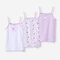Girl's Pink Cute Print Casual Cotton Soft Vest Pajama For 2-12Y - #02