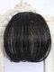 Mini Bangs Air Bangs Hair Extensions No-Trace Bangs Wig Piece - MN42 Natural Black
