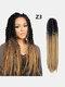 22 цвета цветная грязная коса Спираль длинная Волосы конский хвостик маленькая весна кудрявая Парик - #10