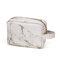 Saco de maquiagem preguiçoso de mármore Saco de cosméticos de grande capacidade Saco de armazenamento portátil multifuncional