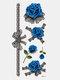 40 piezas 3D estéreo Impermeable tatuajes pegatinas escorpión flor transferencia de agua tatuaje pegatinas - 11