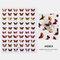3D Waterproof Butterfly Nail Art Stickers Cute Simulation Laser Watermark Manicure Decorations Stickers - 3