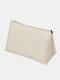 Large Capacity Makeup Bag Portable Travel Dustproof Waterproof Storage Bag - Beige