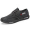 Men Old Peking Style Canvas Non Slip Casual Shoes
