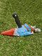 1 PC Halloween Creative Zombie Gnome Dwarf Spoof Garden Statues Outdoor Gardening Funny Garden Home Sculptures Crafts - #01