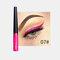 Matte Liquid Eyeliner Quick Dry Wasserdichter Eyeliner Bleistift Braun Lila Farbe Eyeliner Kosmetisches Make-up-Werkzeug - 07
