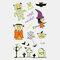 Halloween Luminous Tattoo Children Cartoon Stickers Body Art Waterproof Fake Temporary Tattoo Transfer Paper - 21