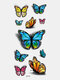 40 piezas 3D estéreo Impermeable tatuajes pegatinas escorpión flor transferencia de agua tatuaje pegatinas - 30