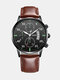 Alloy Business Casual Sports Belt Watch Quartz Watch For Men - #09