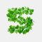 装飾的な花と花輪人工のアイビーリーフガーランド植物つる偽の紅葉花家の装飾 - 1