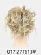 41 Colors Chicken Tail Hair Ring Messy Fluffy Rubber Band Curly Hair Bag Wig - 21