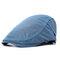 Herren Damen Retro Atmungsaktives Polyester Barett Hut Einstellbar Lässig Wild Vorwärts Hut