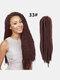 22 цвета цветная грязная коса Спираль длинная Волосы конский хвостик маленькая весна кудрявая Парик - #06