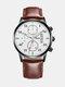 Alloy Business Casual Sports Belt Watch Quartz Watch For Men - #10