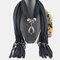 Bohemian Dacron Multi-layer Necklace Handmade Teardrop Pendant Tassel Women Scarf Shawl Necklace - 05