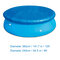 Rectangular Swimming Pool Cover Round Swimming Pool Cover UV-resistant Waterproof Dust Cover Durable - round