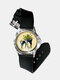 Casual Landscape Printed Men Watch Forest Leaves Flowers Pattern Women Quartz Watch - #09