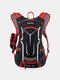 Men Reflective Cycling Outdoor Running Mountaineering Hiking backpack - Red