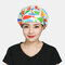 Surgical Caps Scrub Cap Cotton Fabric Nurse Hat Collar Surgery Skull - 04