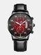 Alloy Business Casual Sports Belt Watch Quartz Watch For Men - #03