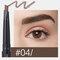 4 Farben Doppelköpfiger Augenbrauenstift Automatische Rotary Refill Wasserdichte, lichtechte Augenkosmetik - #04