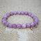 Bohemian Multicolor Crystal Beaded Bracelets Amethyst Elastic Rope Tassel Pendant Women Jewelry - #02