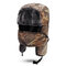 Mens Camouflage Winter Warm Lei Feng Hat Cotton Fleece Thick Windproof Cycling Skiing Face Mask Cap - Yellow