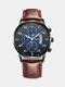 Alloy Business Casual Sports Belt Watch Quartz Watch For Men - #06