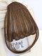 Mini Bangs Air Bangs Hair Extensions No-Trace Bangs Wig Piece - AP401 Light Brown