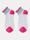 جوارب نسائية من القطن والحرير والزجاج بلون مغاير اللون - ارتفع