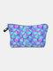 Multifunctional Portable Makeup Bag Fish Scale Women Travel Wash Storage Bag - #07