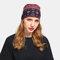 Women Floral Cancer Chemo Hat Beanie Scarf Turban Head Wrap Cap - Rose